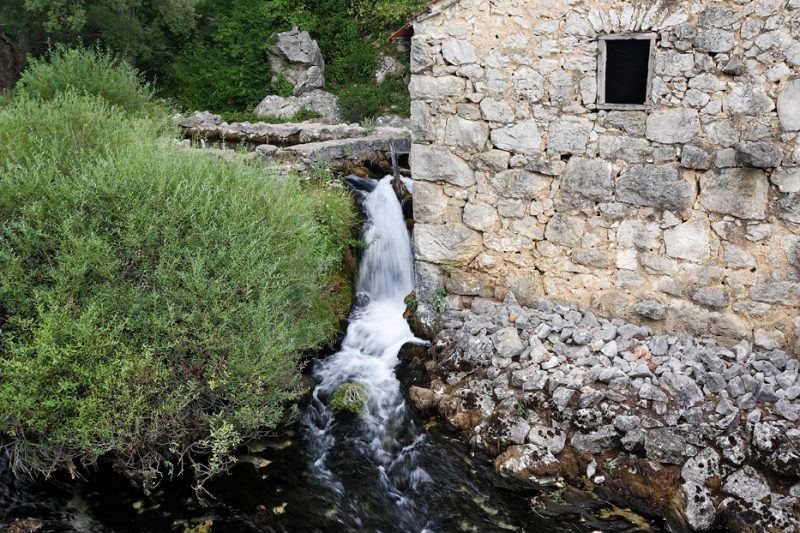 river, croatia, krupa, zrmanja, canyon,  watermill