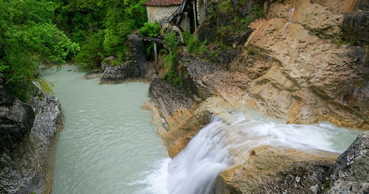 Kotli – beautiful watermill in small canyon
