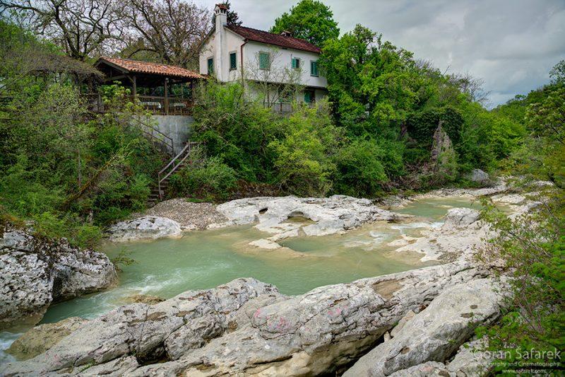 croatia, kotli, river, istra, village