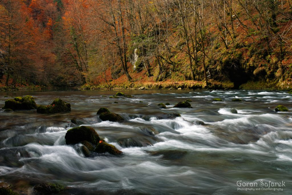 kupa, river, rapids, croatia, source, mountain, croatia, slovenia, autumn