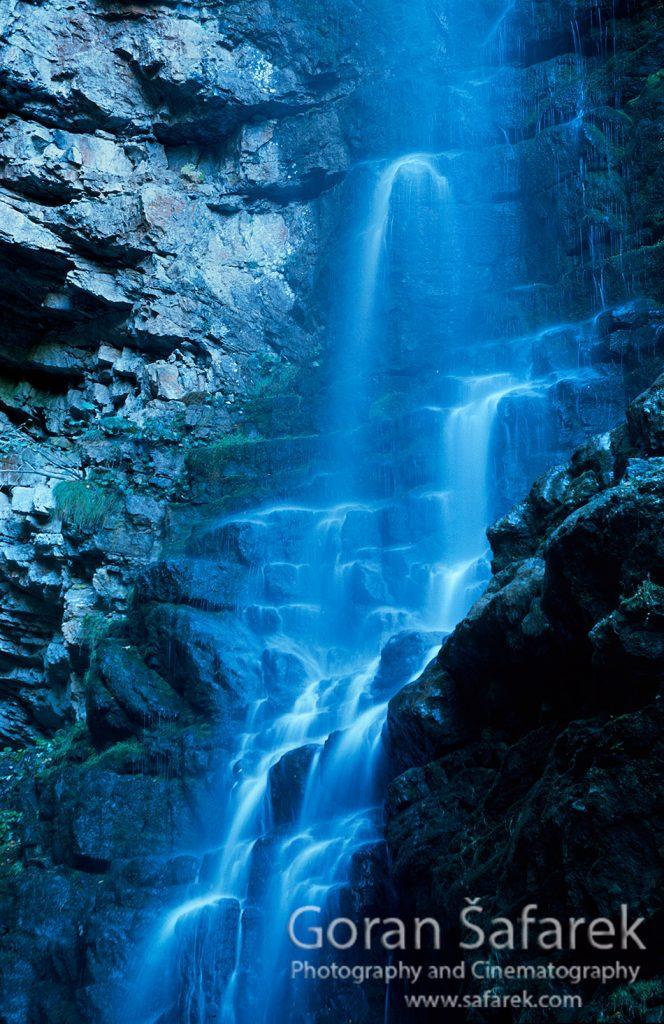 waterfall, cascade, croatia, rivers, zeleni vir