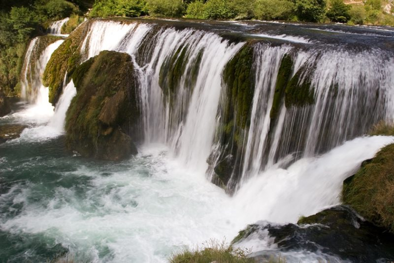 waterfall, cascade, croatia, rivers, una, štrbački buk