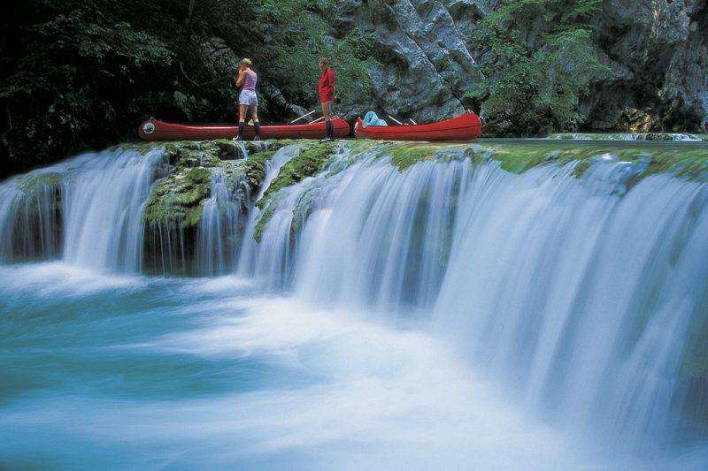 mrežnica, mreznica, river, karlovac, canyon, waterfalls, croatia, boat, canoe