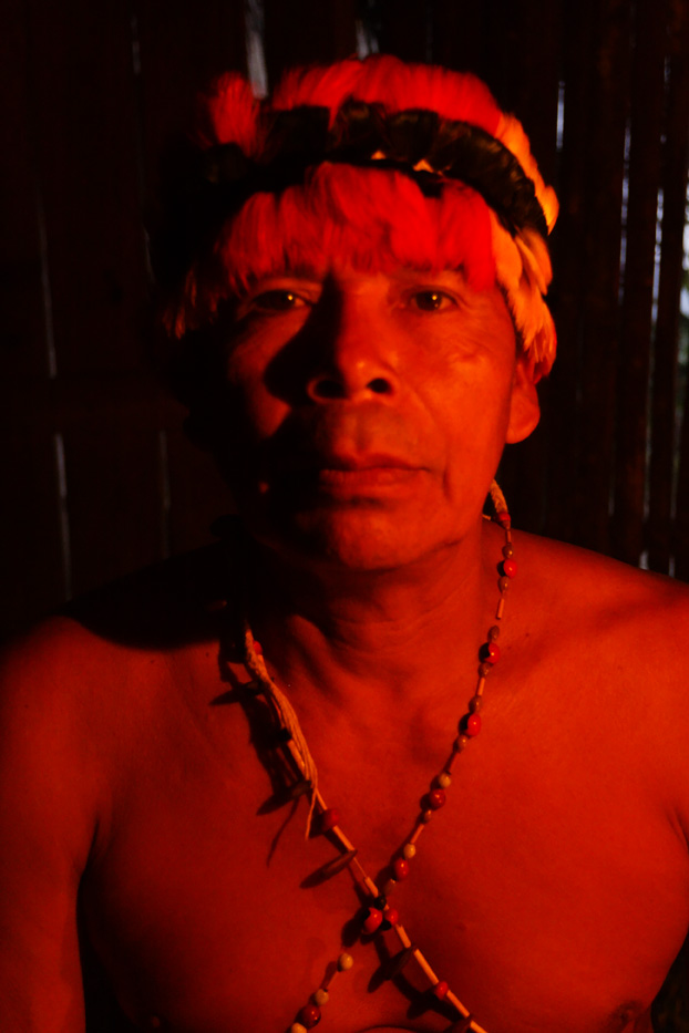 ecuador, macas, shuar, indian, village, amazon, jungle, oriente, shaman, chief