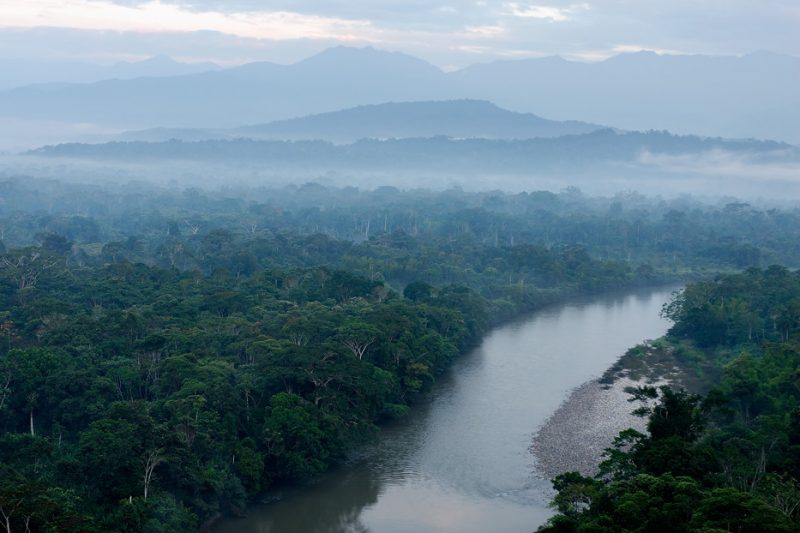 ecuador, anzu, shangrila, rio, rivers, amazon, lodge, ecotourism, andes, jungle, mist, morning