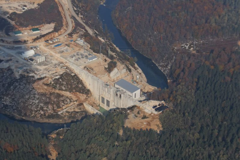 dam, reservoir, devastation