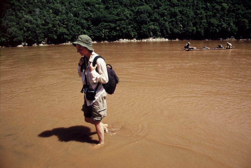 The Tsiribina River, oasis,dry, west, Madagascar, river, paddling