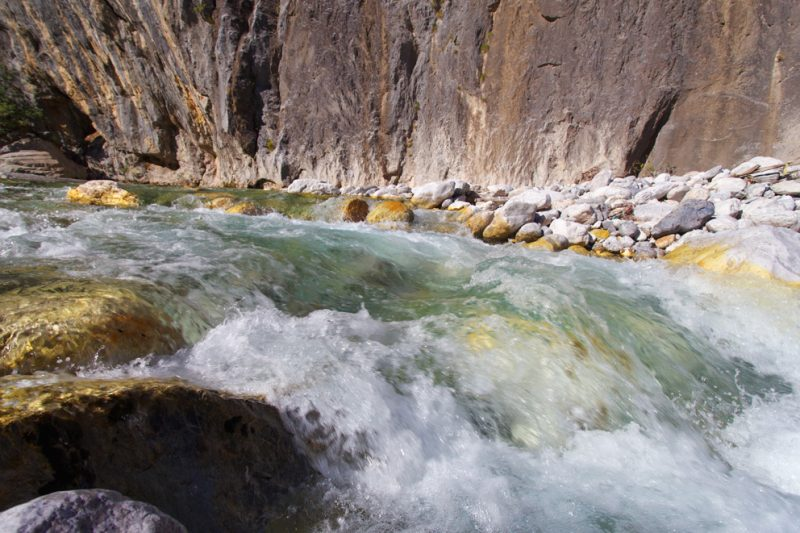 The Valbona river