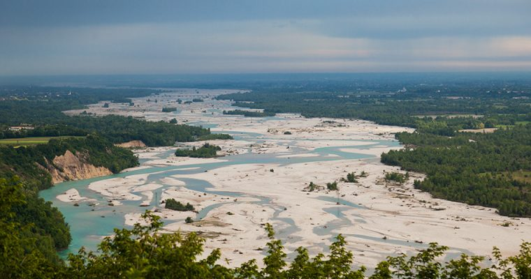 Tagliamento – last living alpine river in Europe