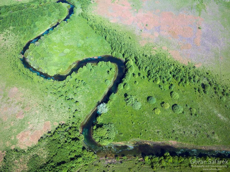Meandering  – when rivers snake in the landscape