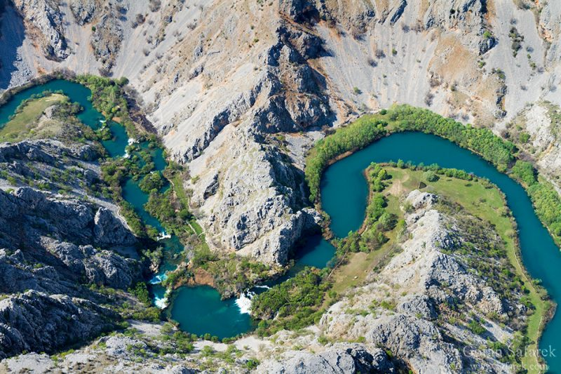 river, croatia, krupa, zrmanja, canyon, waterfall