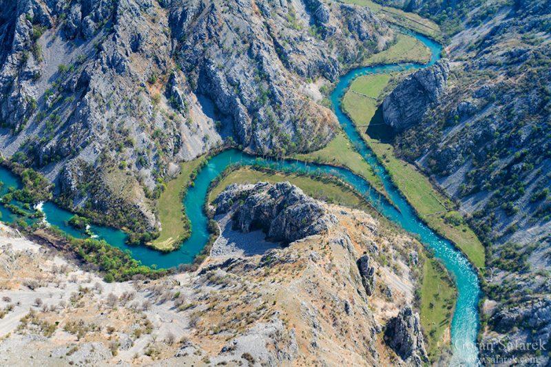river, croatia, krupa, zrmanja, canyon, confluence