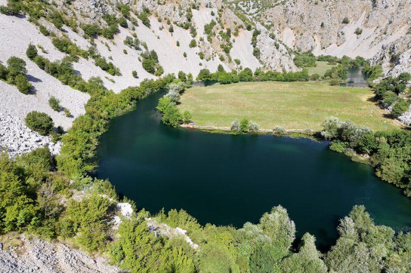 river, croatia, krupa, zrmanja, canyon,