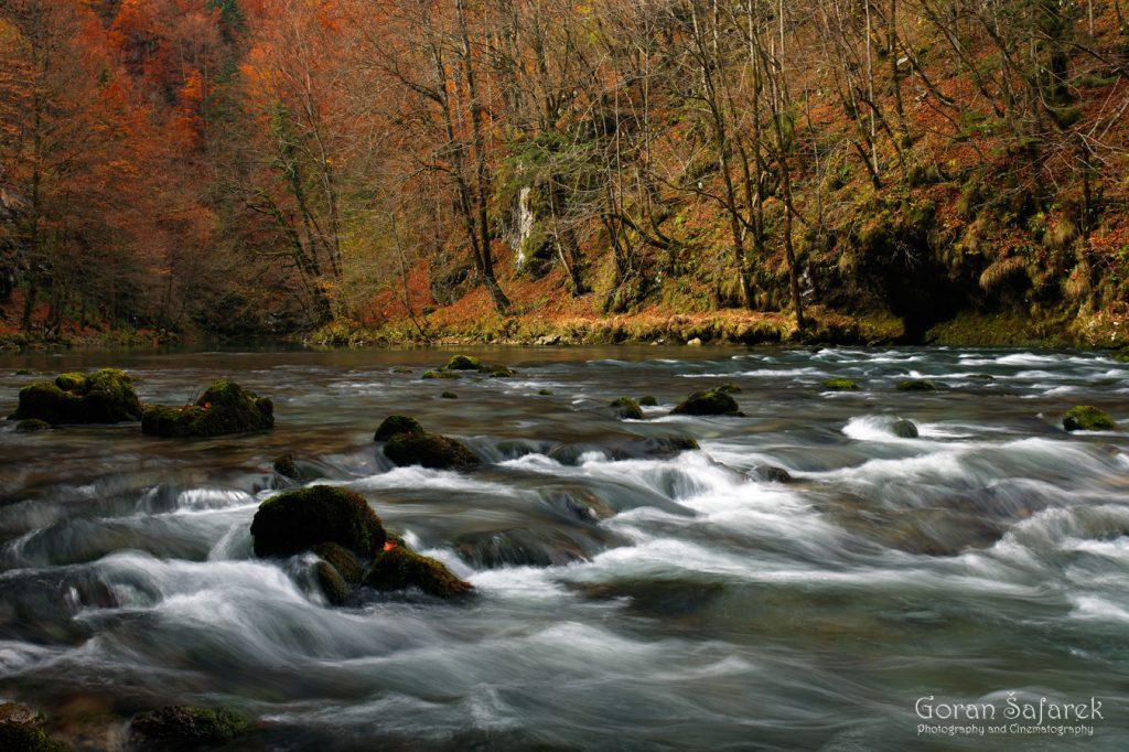 kupa, river, rapids, croatia, source, mountain, croatia, slovenia, autumn