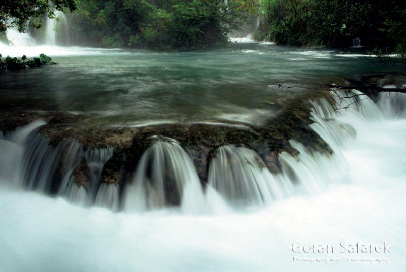 plitvice lakes, waterfall, croatia, falls, lakes, stream, brook, river, rain
