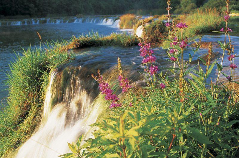 waterfall, cascade, croatia, rivers, mrežnica