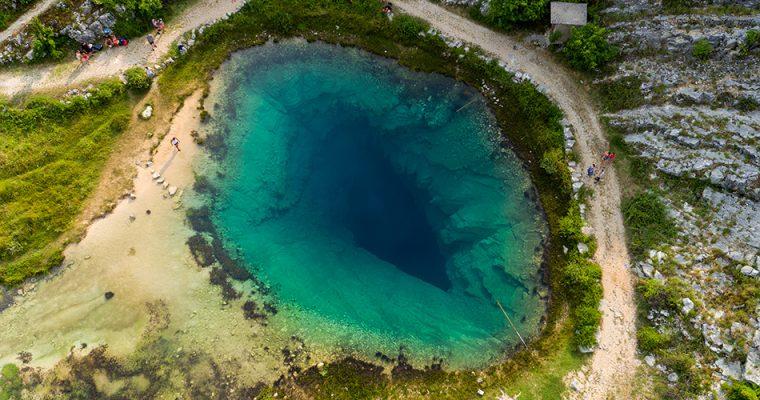 Beautiful lake springs in Croatia!