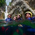 cetina, canyoning, dalmatia, croatia, rafting, waterfall