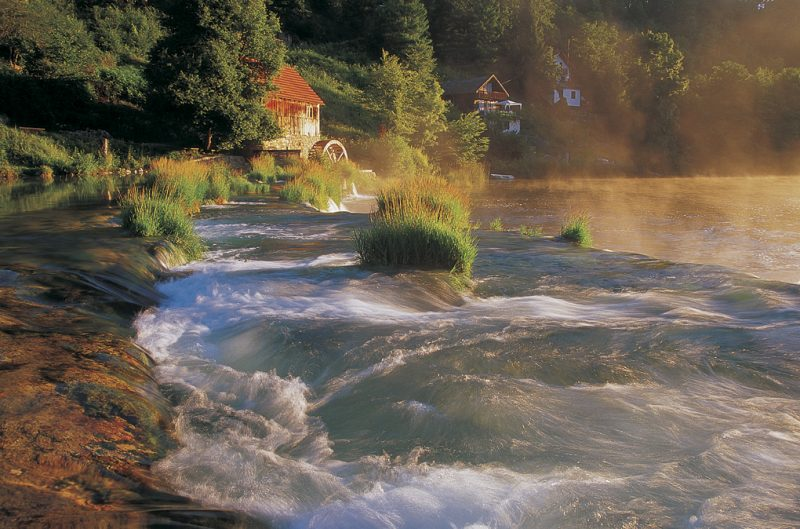 Mrežnica – the most charming Croatian river