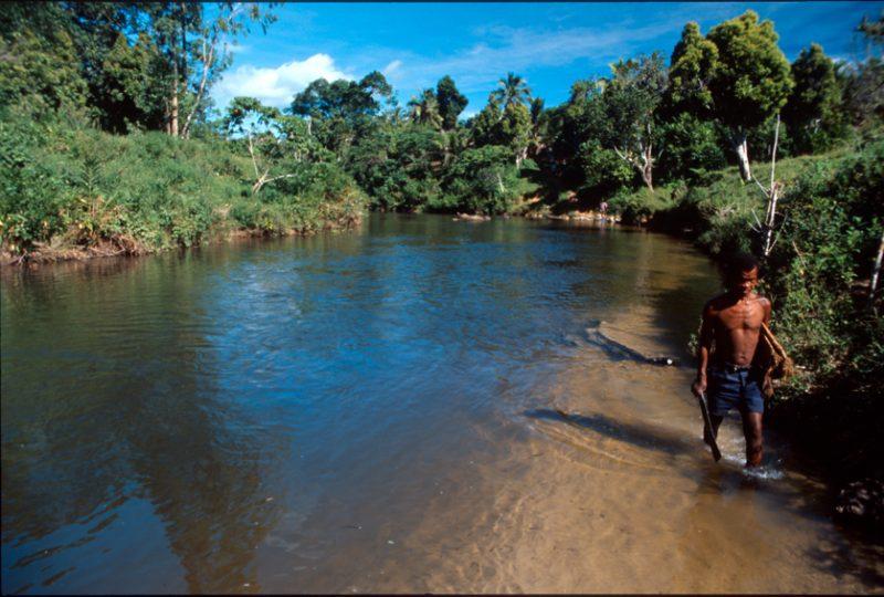 madagascar, stream, farmers, africa
