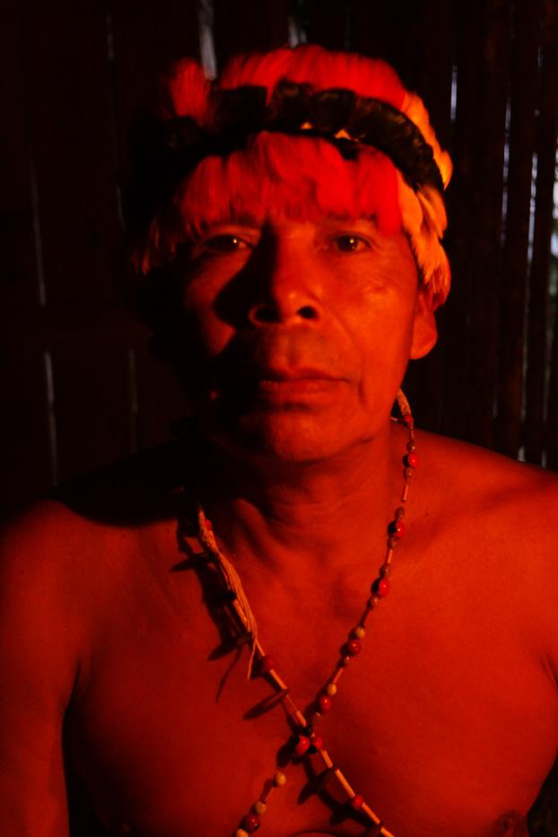 ecuador, macas, shuar, indian, village, amazon, jungle, oriente, shaman, chief