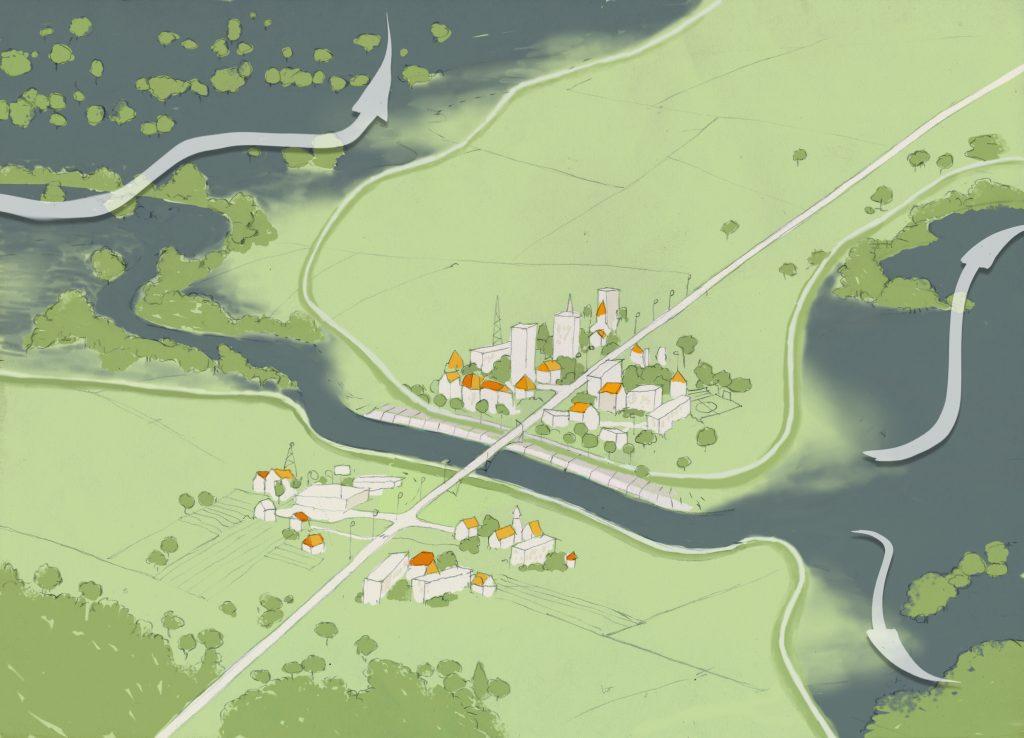rivers, flood, flooding, damage, nature, management, protection