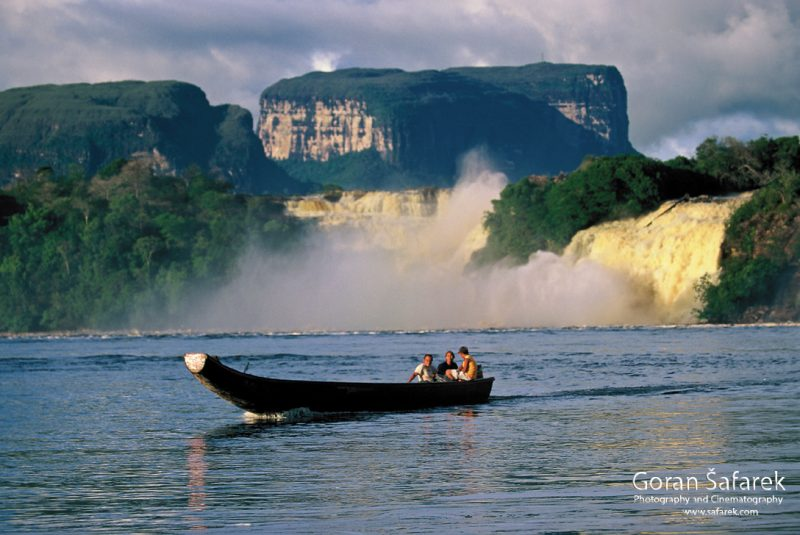 Canaima and Angel Falls – the realm of waterfalls