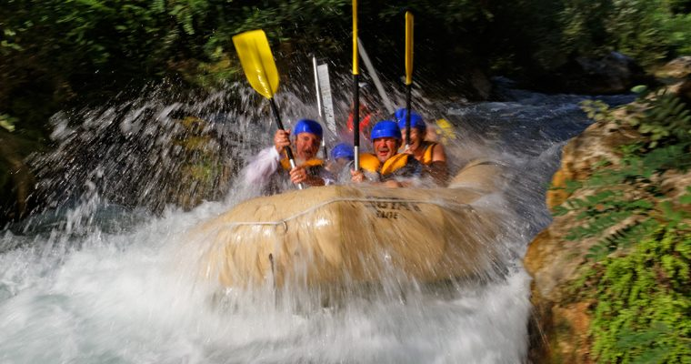 Difficulty grading of whitewater rafting