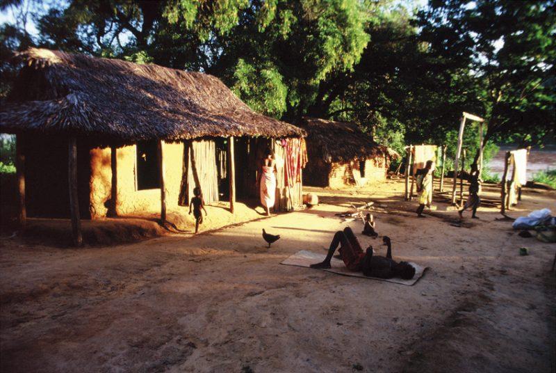 The Tsiribina River, oasis,dry, west, Madagascar, river, paddling, village