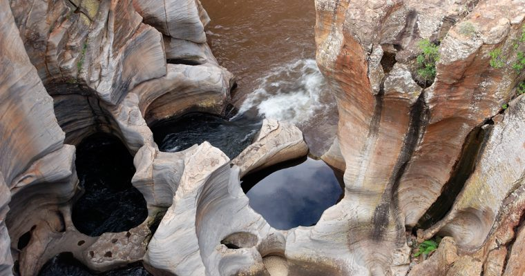 Bourkes' Luck Potholes and the Blyde River