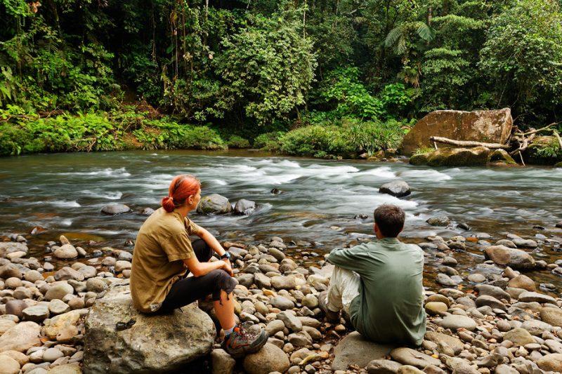 Zanja Arajuno – wild streams in the Andean foothills
