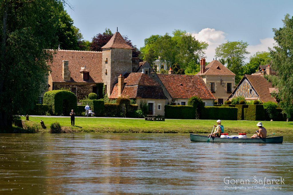 france, allier, loire, river, apremont-sur-allier