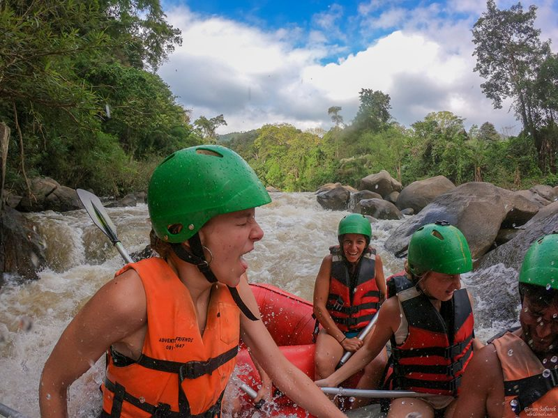 River and jungle adventure in Chiang Mai, Thailand
