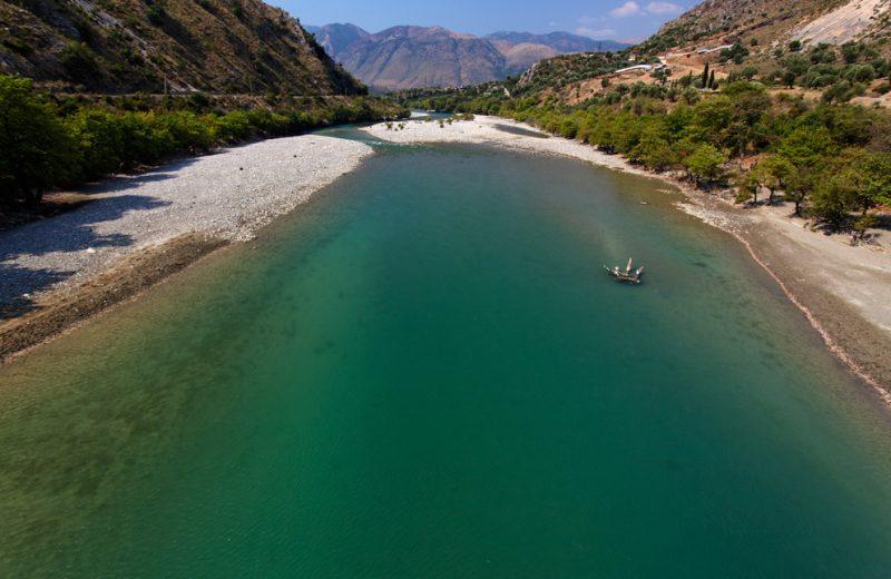 The Vjosë River