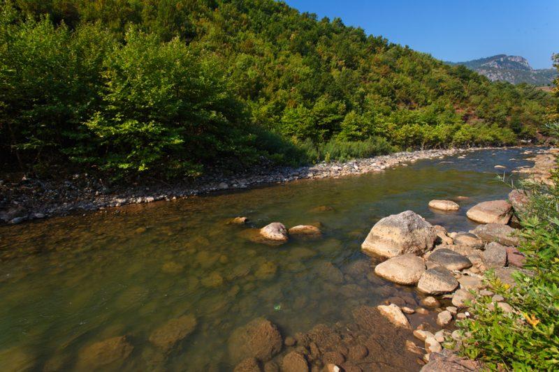 The Shkumbin River