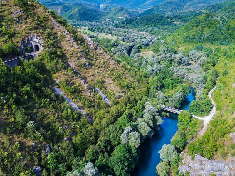 Upper course of the Una River