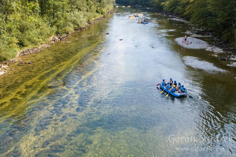 Kupa, kolpa, croatia, slovenia, rafting